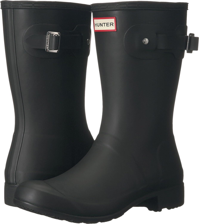 Hunters Boots Women's Original Tour Short Boots B01BD244GE 10 B(M) US|Black
