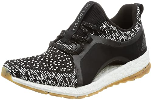 adidas AW17 Womens Pureboost X All Terain Running Shoes - Black White - UK 7 2b1649af78