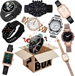 Mystery_Box Watch Lucky_Box Mystery_Boxes Blind_Box, Super Costeffective, Random Style, Excellent Value for Money, First Come First Served, Give Yourself A Surprise, Or As A Gift to Kid,Heartbeat! (B)