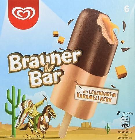Langnese Brauner Bär Eis, 360 ml, (Tiefgefroren): Amazon.de ...