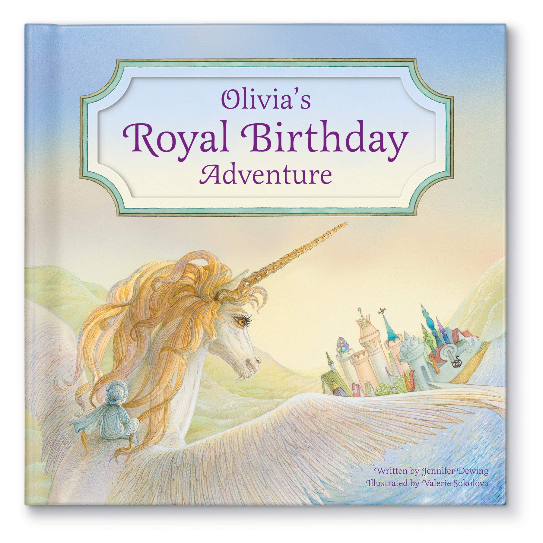 Personalized Custom Name Birthday Book for Kids Unicorn Edition | Best Birthday Gift for Kids …
