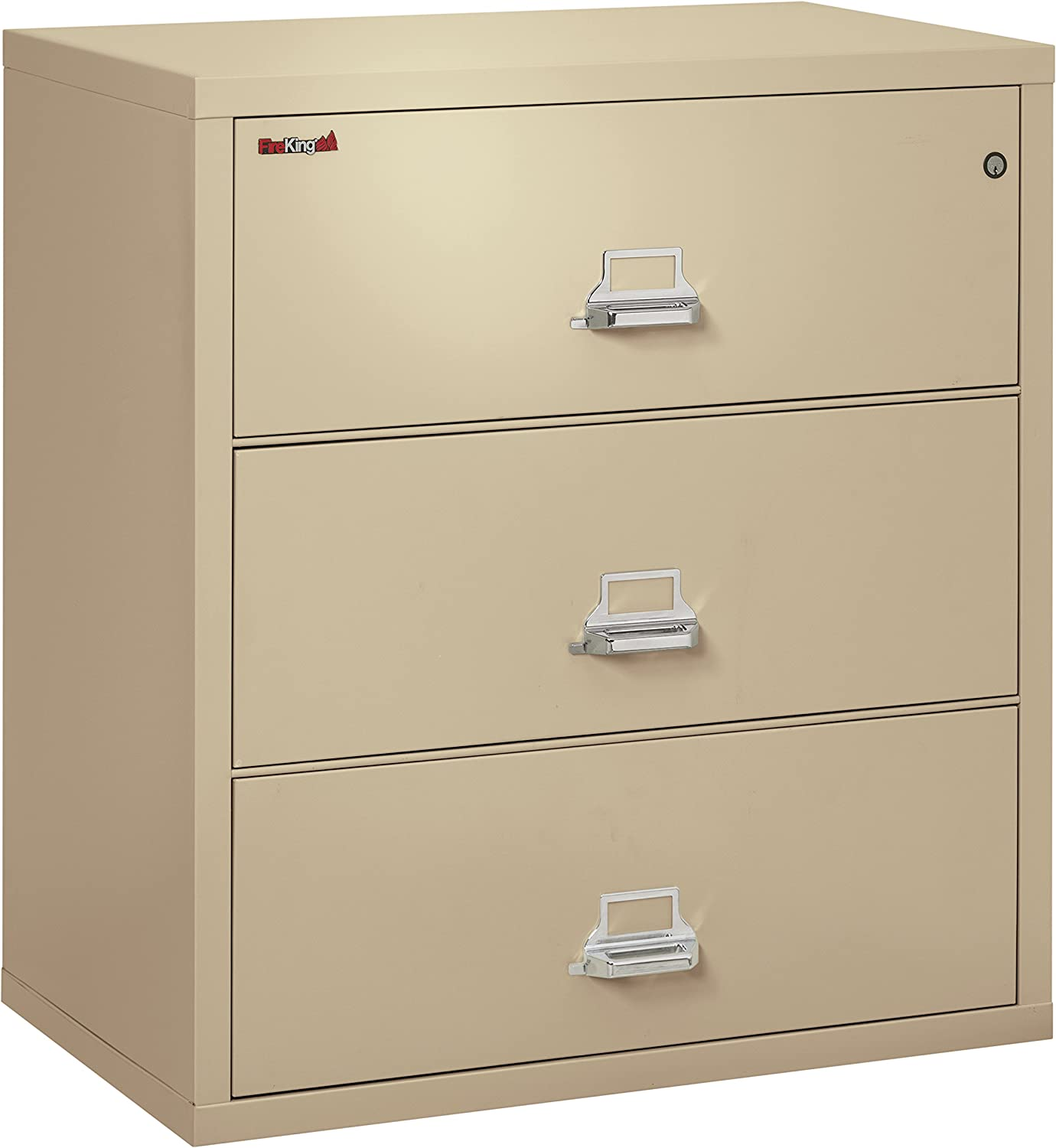Fireking Fireproof Lateral File Cabinet 3 Drawers Impact