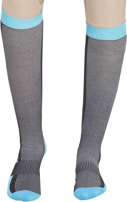 TuffRider Ventilated Neon Knee Hi Socks 3 pack                             ...