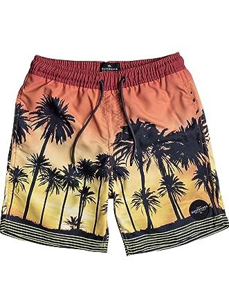 0464cc0c52 Quiksilver Boys' Little Sunset Vibes Volley Youth Short, Cadmium Orange 2