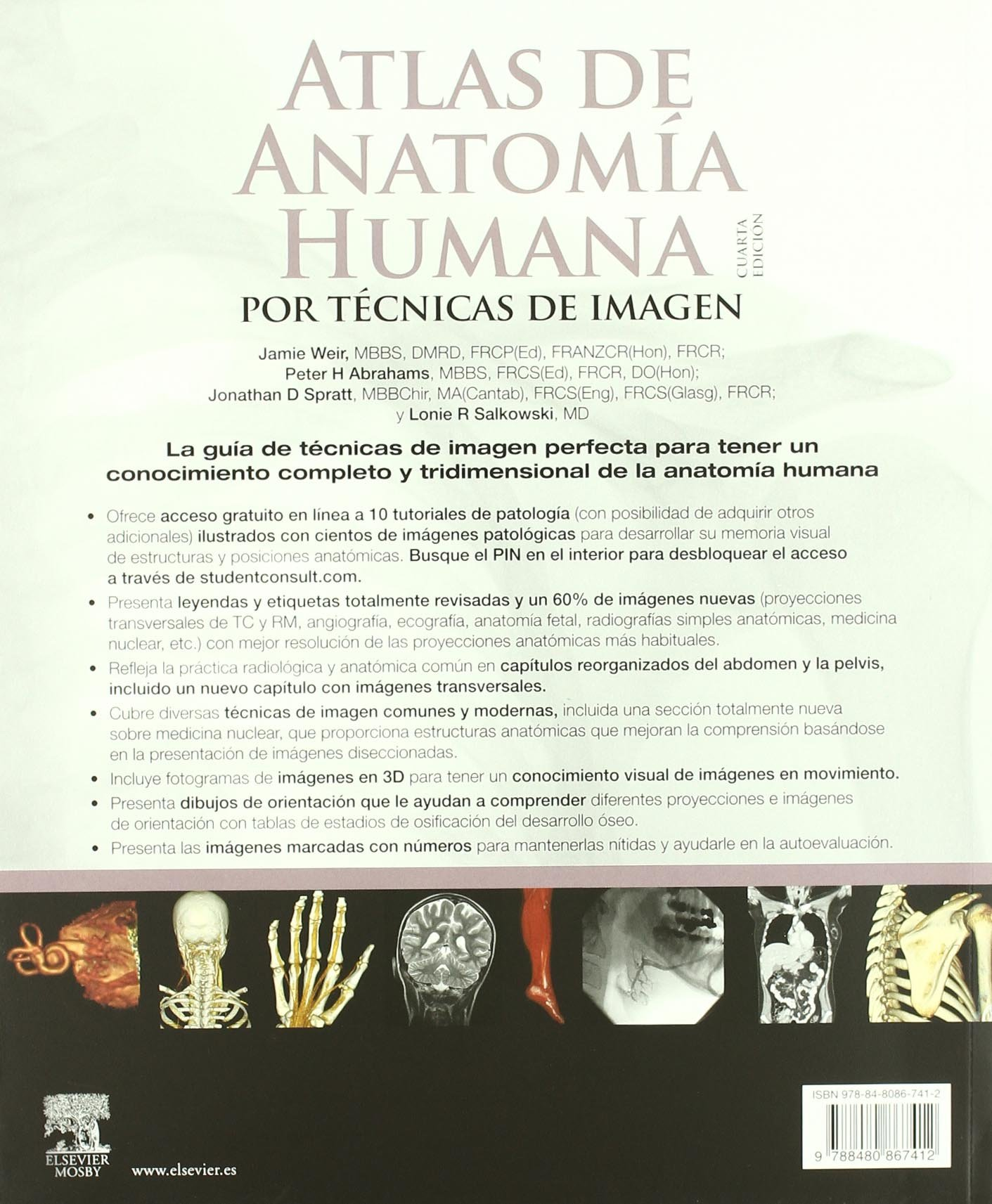 Atlas de Anatomía Humana por técnicas de imagen: Amazon.es: J. Weir ...