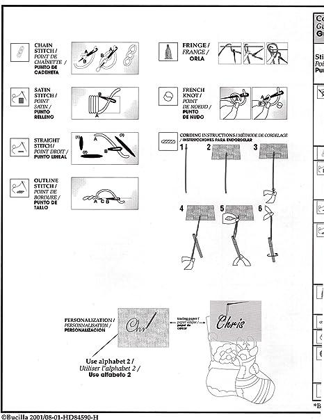 Bucilla 86913 Needle Arts Multi