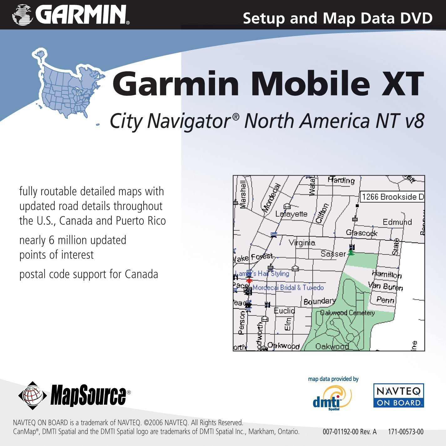 Garmin 010-10841-00 GPS 10 Series Map DVD
