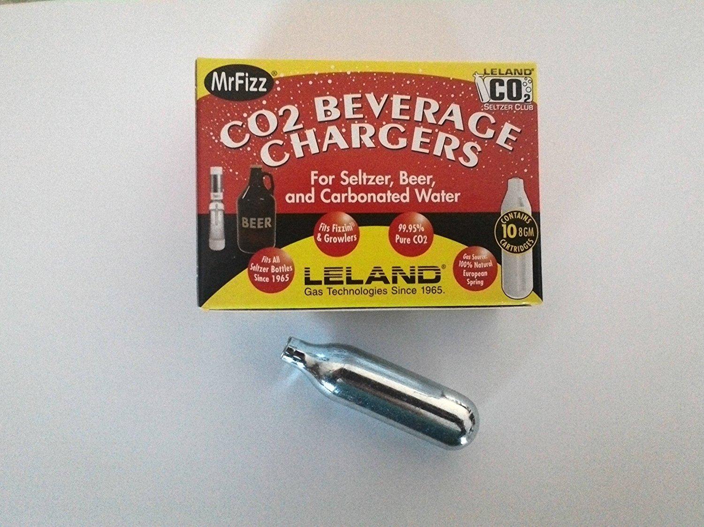 Leland Mr Friz Seltzer CO2 Soda Charger 100PK