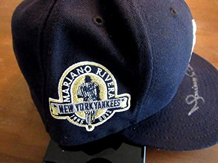 16093ed727c Mariano Rivera   42 Yankees Signed Auto New Era 5950 Retirement Cap Hat Loa  - JSA