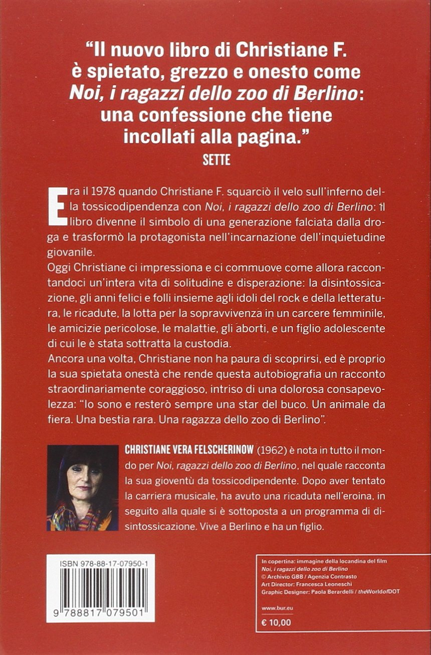 christiane f la mia seconda vita  Christiane F. La mia seconda vita: : Christiane V ...