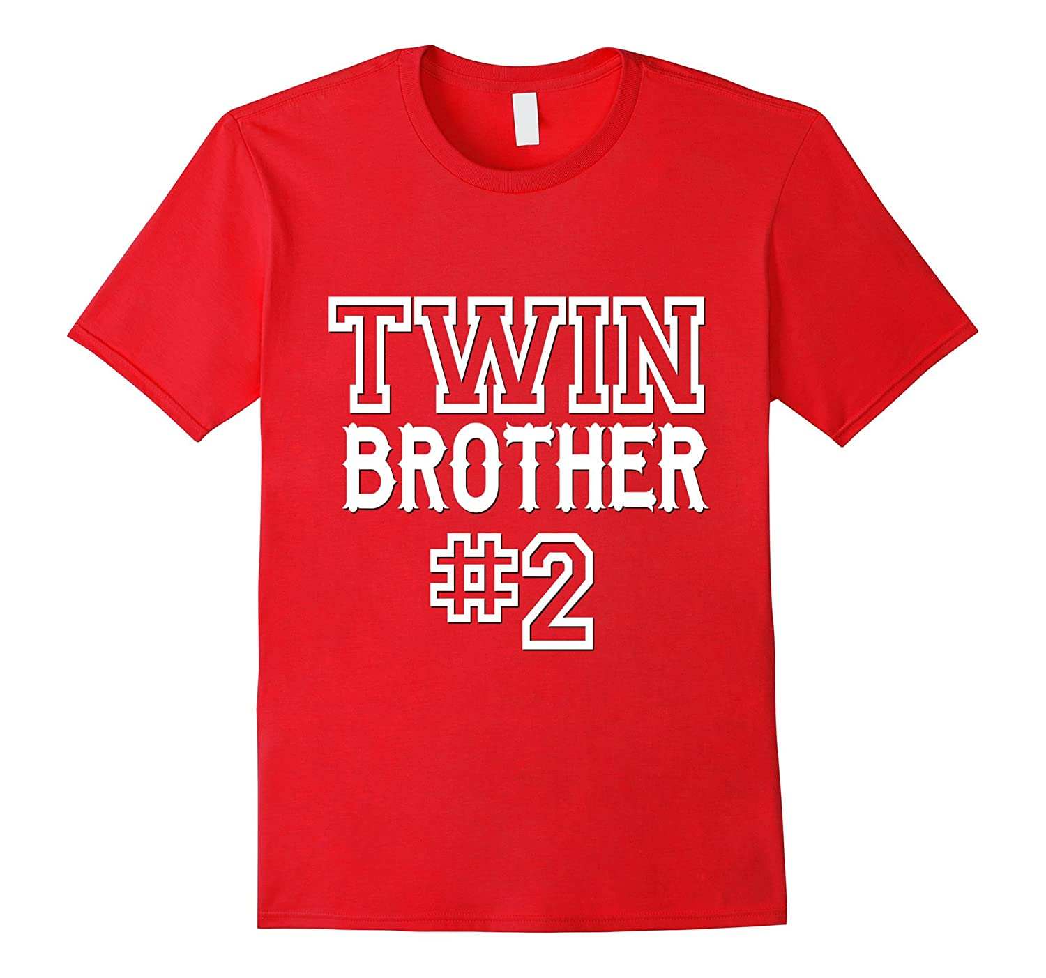 Twin Brother 2 Shirt Matching Family Kids Son Boys Gift-CD