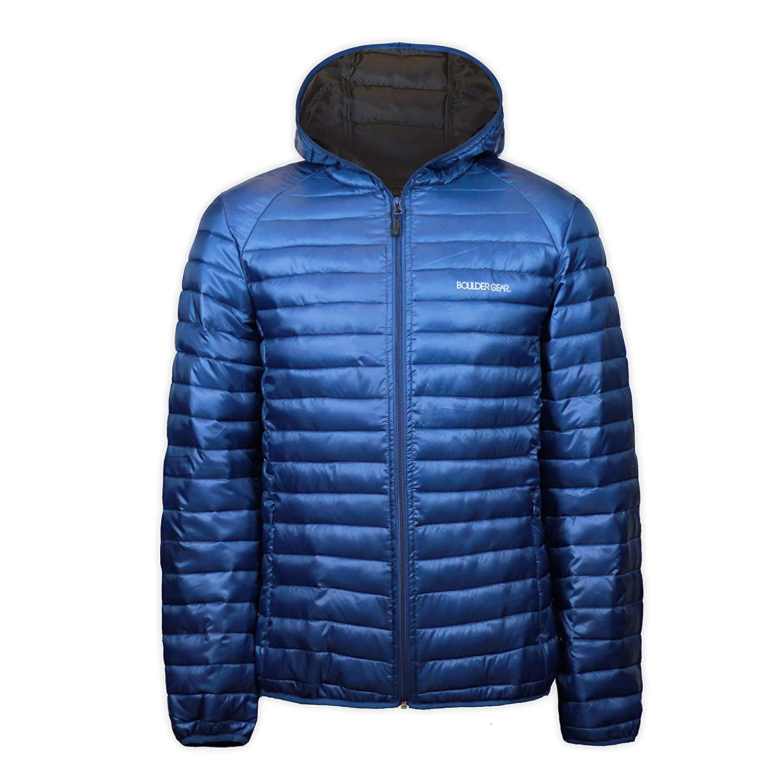 Boulder Gear 8989R Youth Boys Packable D-Lite Jacket
