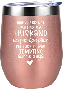 Mother in Law Gifts from Daughter in Law - Mothers Day Gifts for Mother in Law - Mother in Law Birthday Gifts - Future Mother in Law Gifts, Mother of the Groom Gifts - Coolife Wine Tumbler MIL Cup