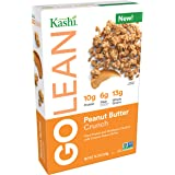 Kashi GOLEAN, Breakfast Cereal, Peanut Butter Crunch, Non-GMO Project Verified, 13.2 oz