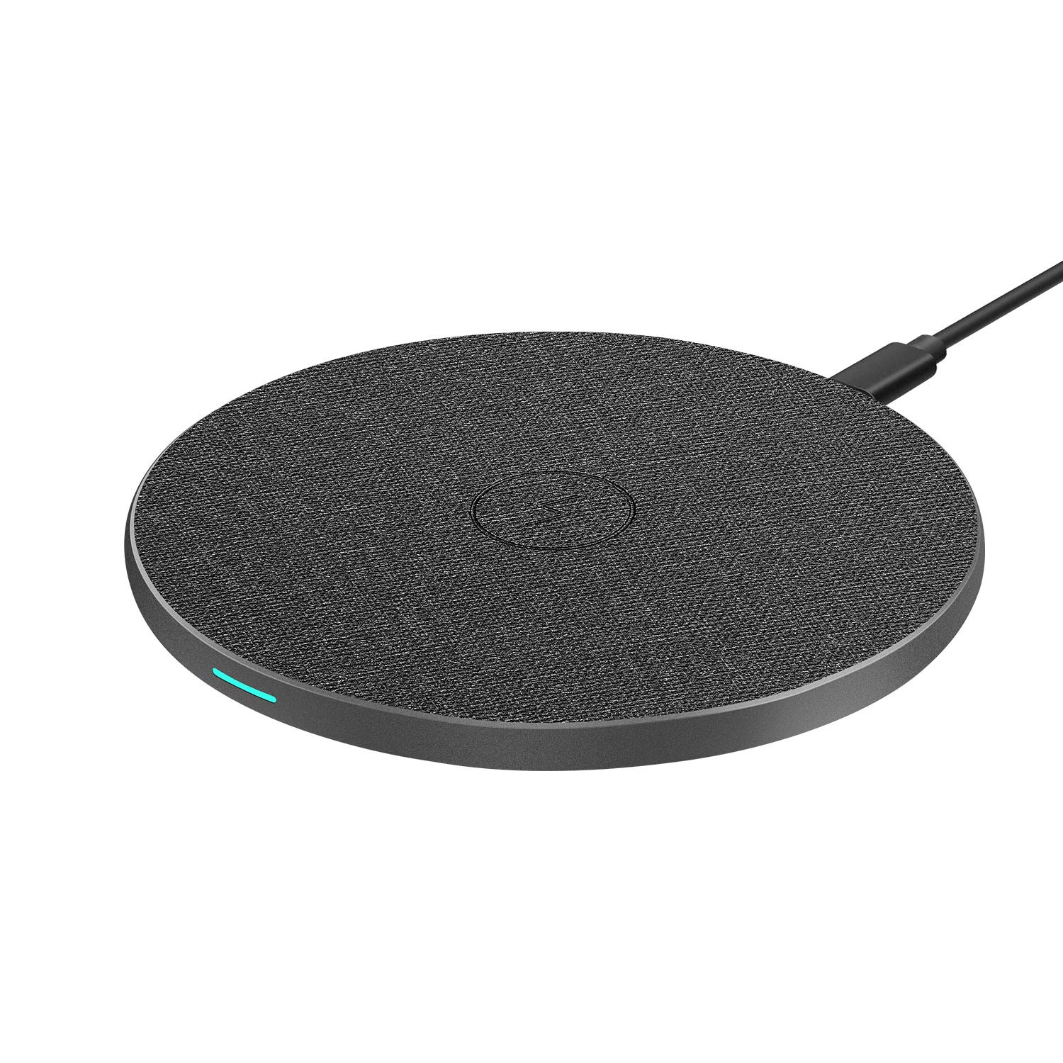 Galaxy Note 10//Note 10 Plus//S10//S10 Plus//S10E WISFOX Wireless Charger Upgraded Qi-Certified 10W Max Fast Universal Wireless Charging for iPhone 11//11 Pro//11 Pro Max//XS MAX//XR//XS//8 Plus No AC Adapter