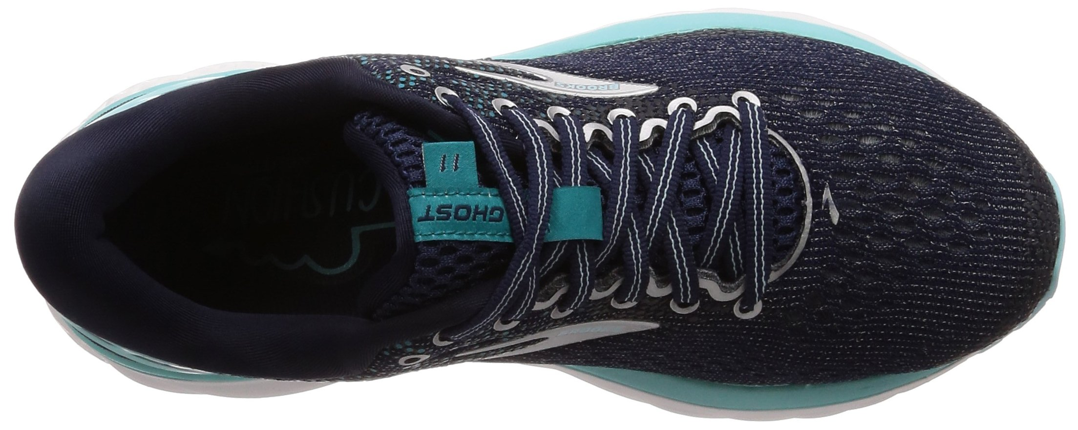 Brooks Womens Ghost 11 Running Shoe - Navy/Grey/Blue - D - 5.5 by Brooks (Image #7)
