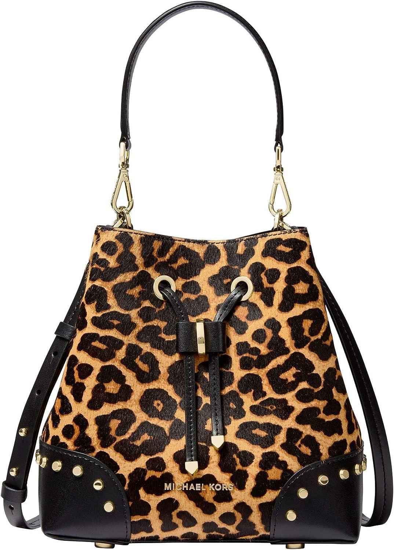 michael kors leopard väska