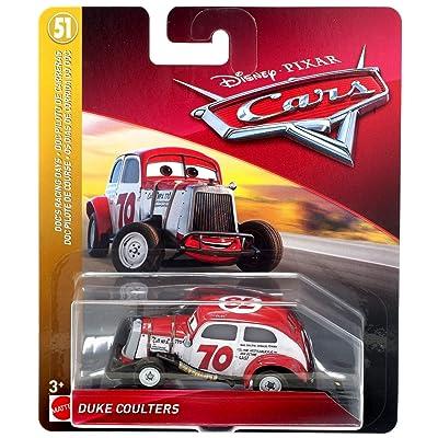Disney Pixar Cars Duke Coulters: Toys & Games