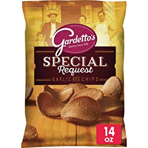 Gardetto's, Snack Mix, Roasted Garlic Rye Chips, 14 oz. Bag
