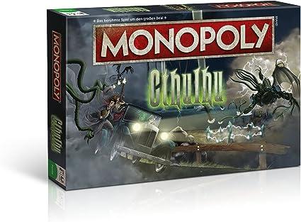 Winning Moves Monopoly Cthulhu Simulación económica Niños y Adultos - Juego de Tablero (Simulación económica, Niños y Adultos, Niño/niña, 8 año(s), Alemán, Alemán): Amazon.es: Juguetes y juegos