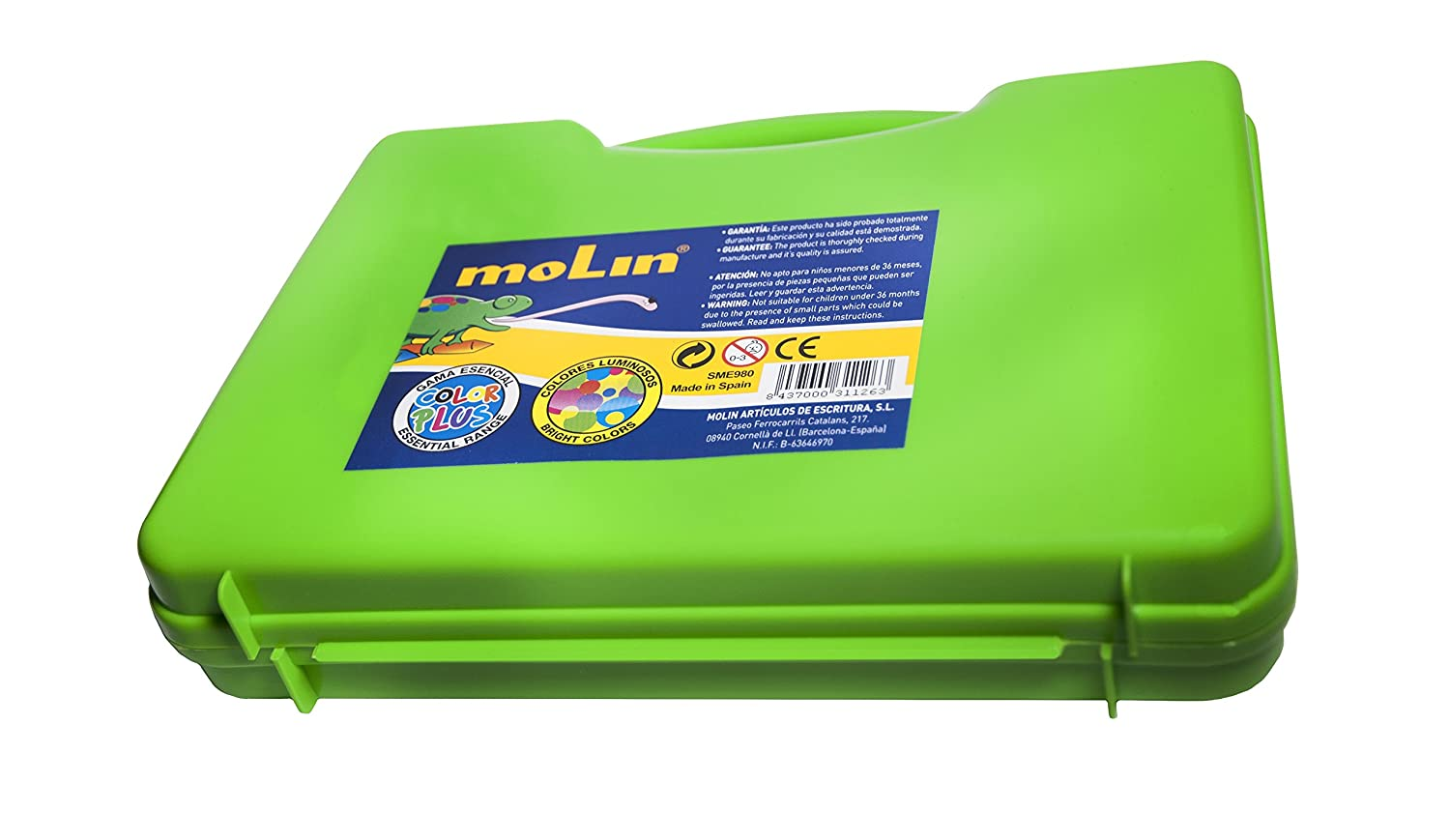 Amazon.com: molín Drawing Folder with Crayons – and Markers ...