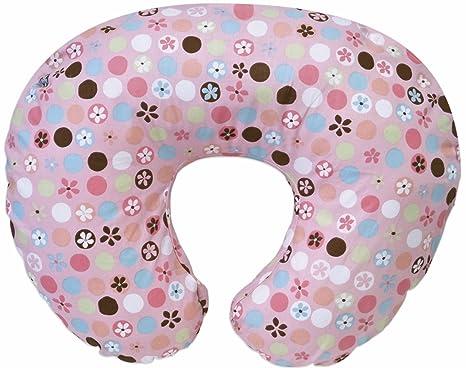 Chicco Boppy almohada con funda de algodón de flores y ...