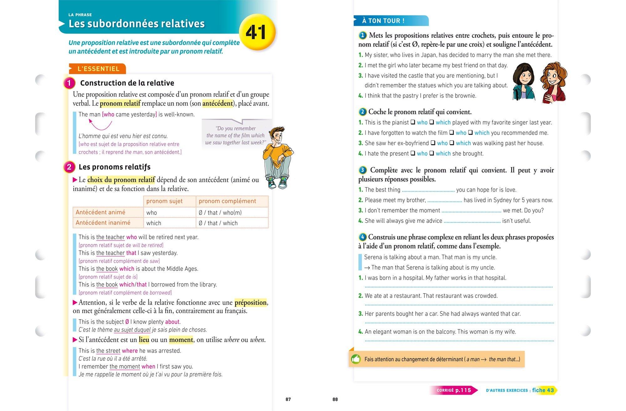 Mes fiches collège Anglais 3e: fiches de révision et entraînement à lécrit et à loral: Amazon.es: Nada Prévot, Jeanne-France Bignaux: Libros en idiomas ...