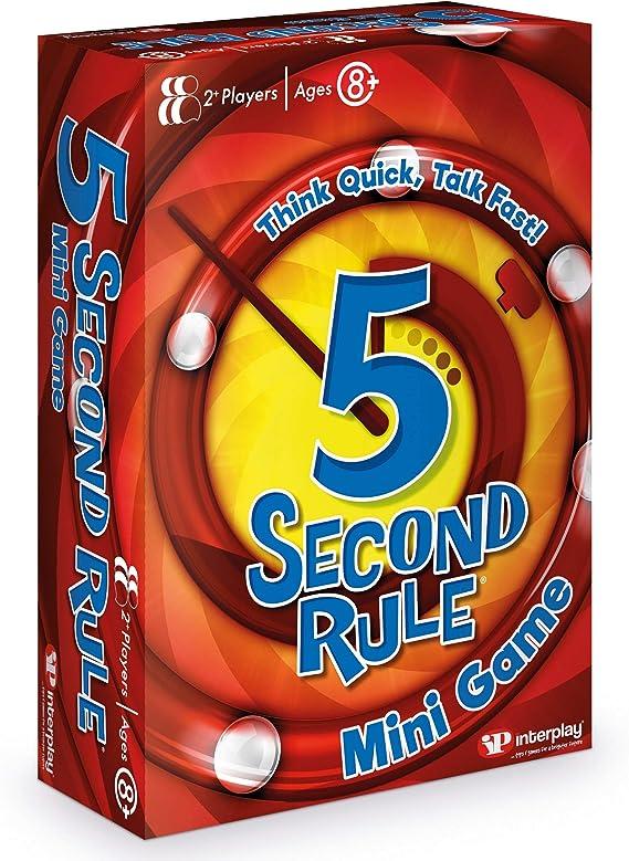 Juego de Cartas 5 Second Rule GF003, Multicolor: Amazon.es ...