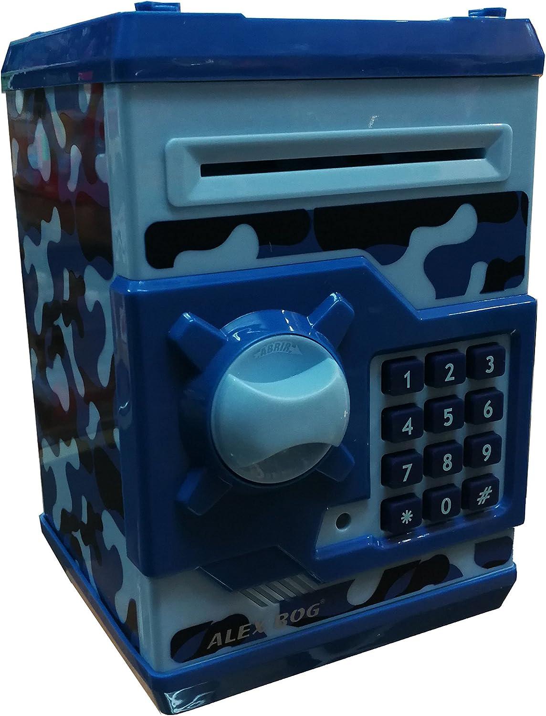 Hucha Caja fuerte Navy azul: Amazon.es: Juguetes y juegos