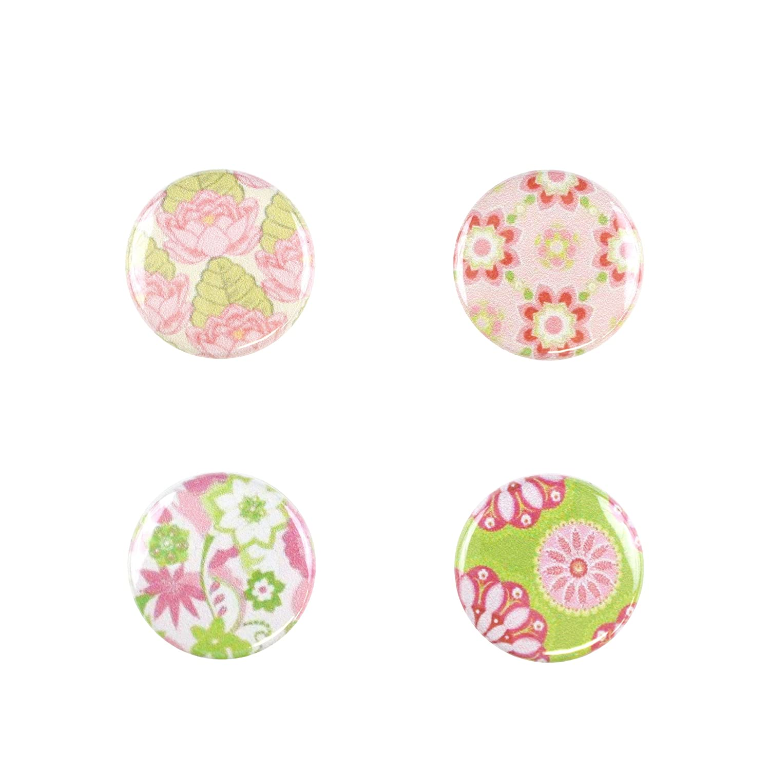 Pink Florals C-FLORAL-D Il Bere Wine and Drink Charms Floral Collection