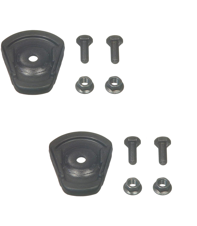 Pair Set 2 Front Strut Bearing Plate Insulators for Chevy Camaro Pontiac