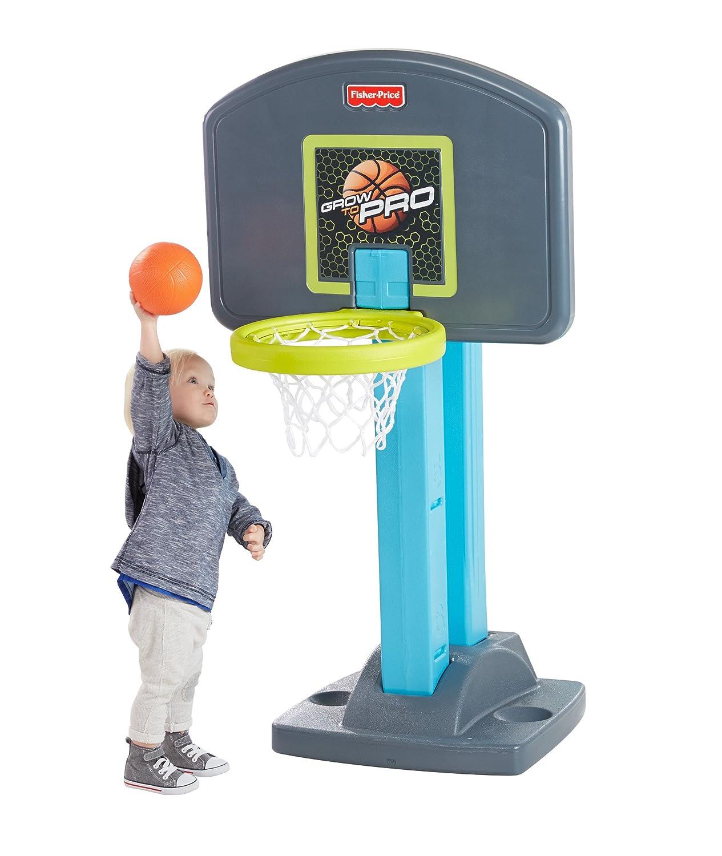 Preferred Amazon.com: Fisher-Price Grow-to-Pro Basketball: Toys & Games GG52