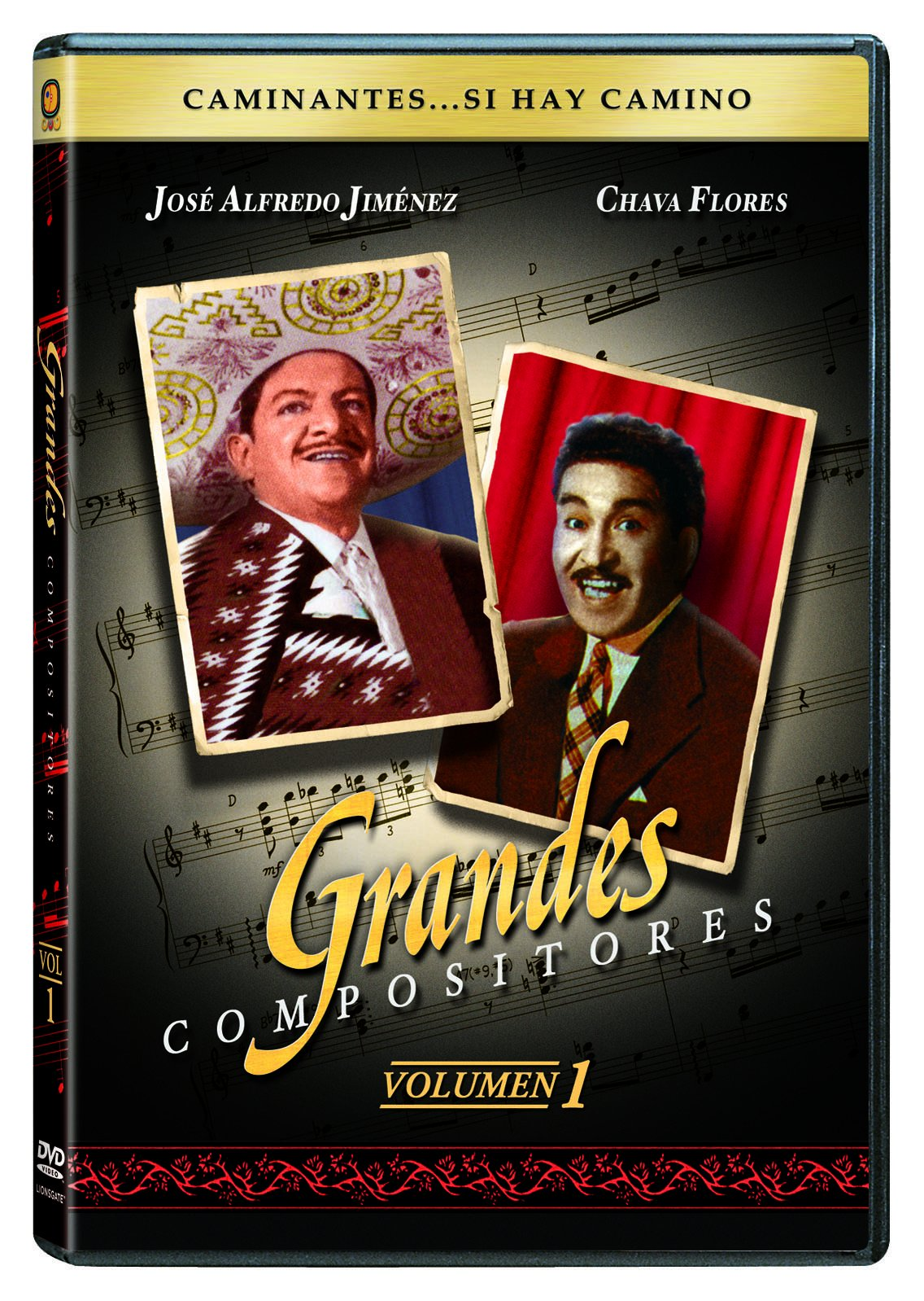 DVD : Grandes Compositores 1 (Full Frame, Sensormatic, Checkpoint)