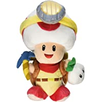 "Little Buddy Super Mario Bros. Captain Toad Standing Pose Stuffed Plush, 9"""