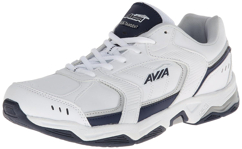 Avia Men's Avi-Tangent Training shoe B00FYHHC28 13 D(M) US|White/Submarine Blue/Chrome Silver