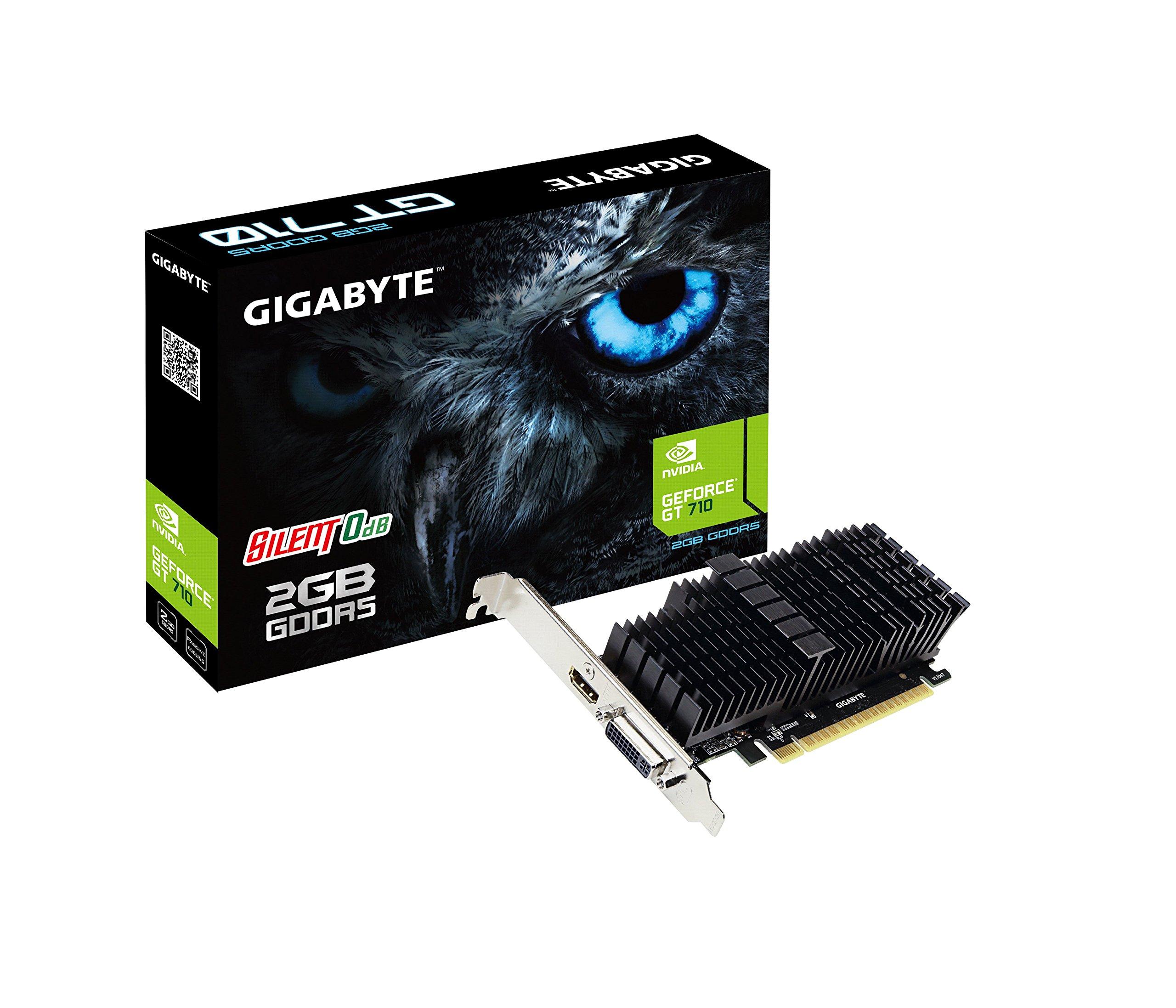 Gigabyte GeForce GT 710 2GB Graphic Cards GV-N710D5SL-2GL