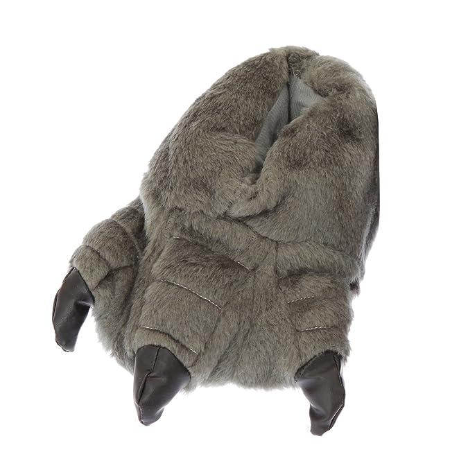 Amazon.com | Childrens/Kids Big Boys Monster Feet Design Indoor Slippers | Slippers
