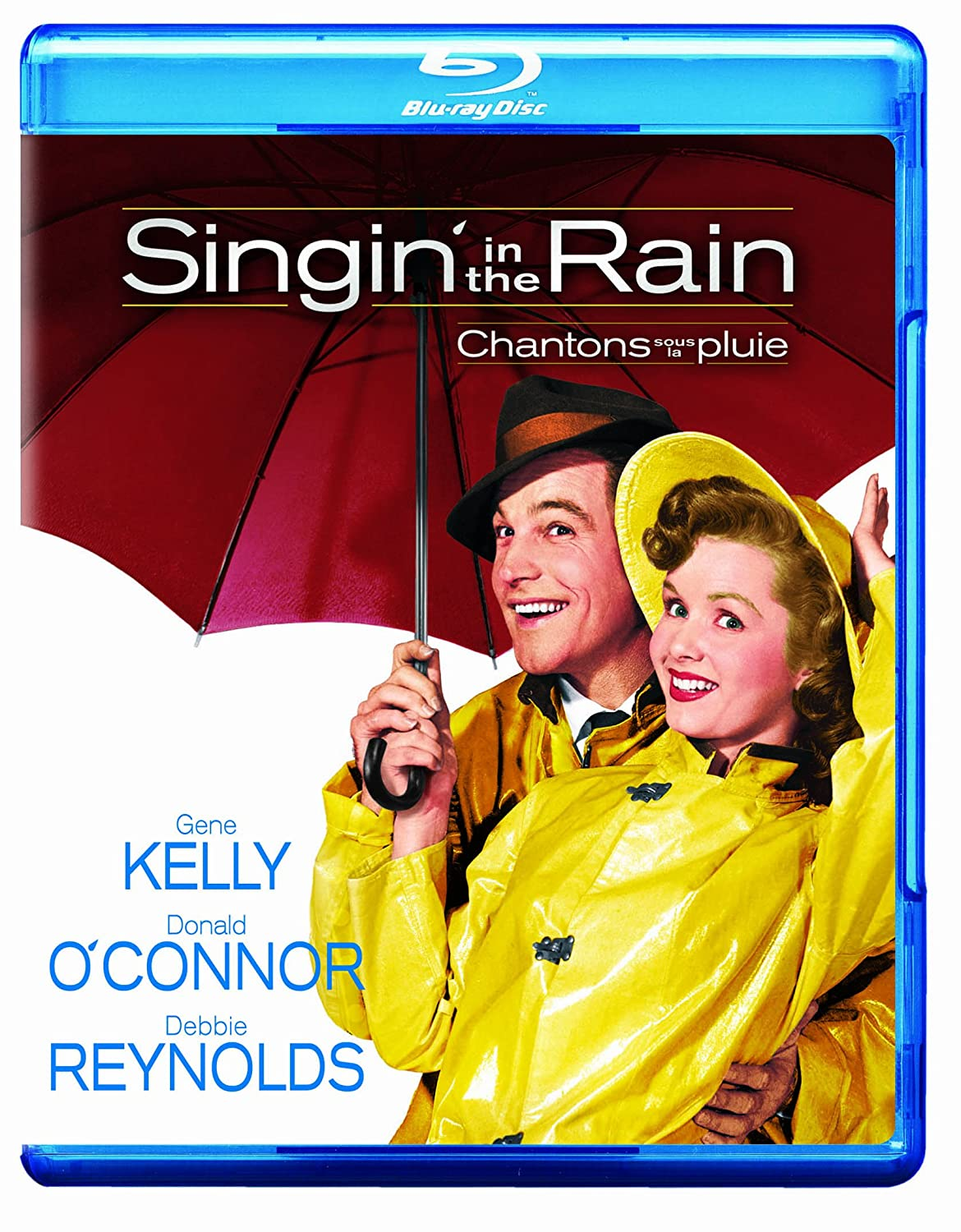 Singin' in the Rain: 60th Anniversary Special Edition / Chantons sous la pluie : Édition Spéciale de 60e Anniversaire (Bilingual) [Blu-ray] Donald O' connor Debbie Reynolds Gene Kelly Stanley Donen