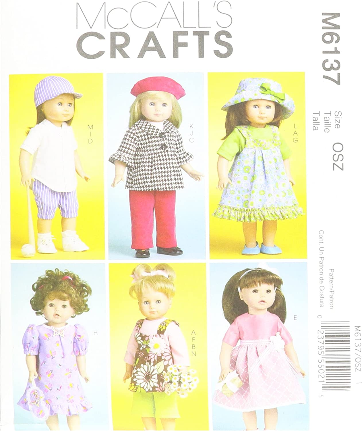 FITS AMERICAN GIRL MAKE GIRL~DOLL MATCHING TOP~PANTS SIZE 3-8 SEWING PATTERN