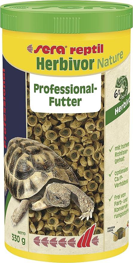 Sera Reptil Professional Herbivor, alimento profesional para reptiles: Amazon.es: Productos para mascotas