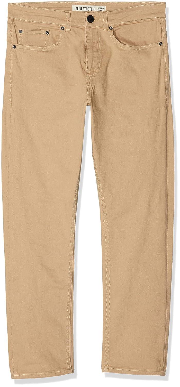TALLA W28/L32 (Talla del fabricante: 28R). New Look Coloured Crop Pantalones para Hombre