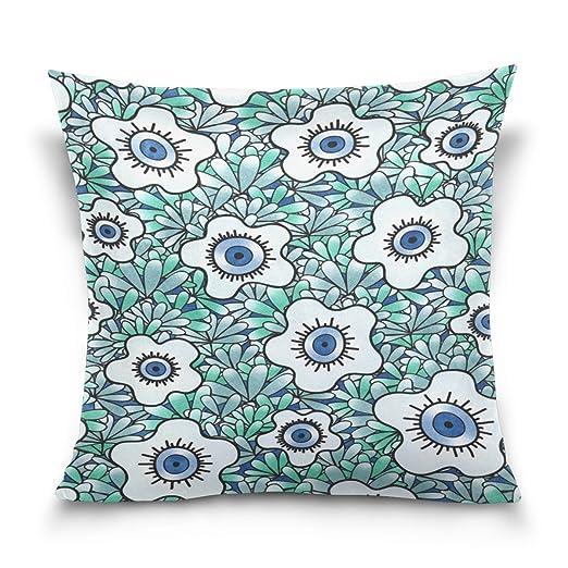 Sr. Weng hogar dibujos animados flores algodón manta ...