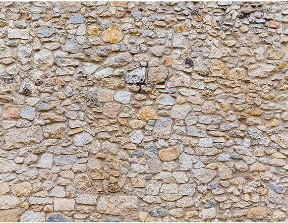 Tapisserie Photo Mur De Pierre 396 X 280 Cm Laine Papier