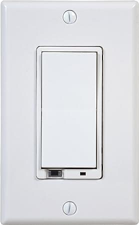 Gocontrol Wd500z 1 Z Wave 500 Watt Wall Mount Dimmer Switch Wall Dimmer Switches Amazon Com