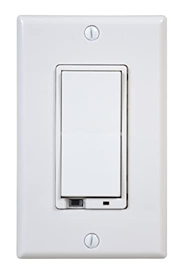GoControl WD500Z 1 Z Wave 500 Watt Wall Mount Dimmer Switch