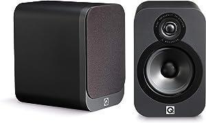 Q Acoustics 3020 Bookshelf Speaker Pair (Graphite)