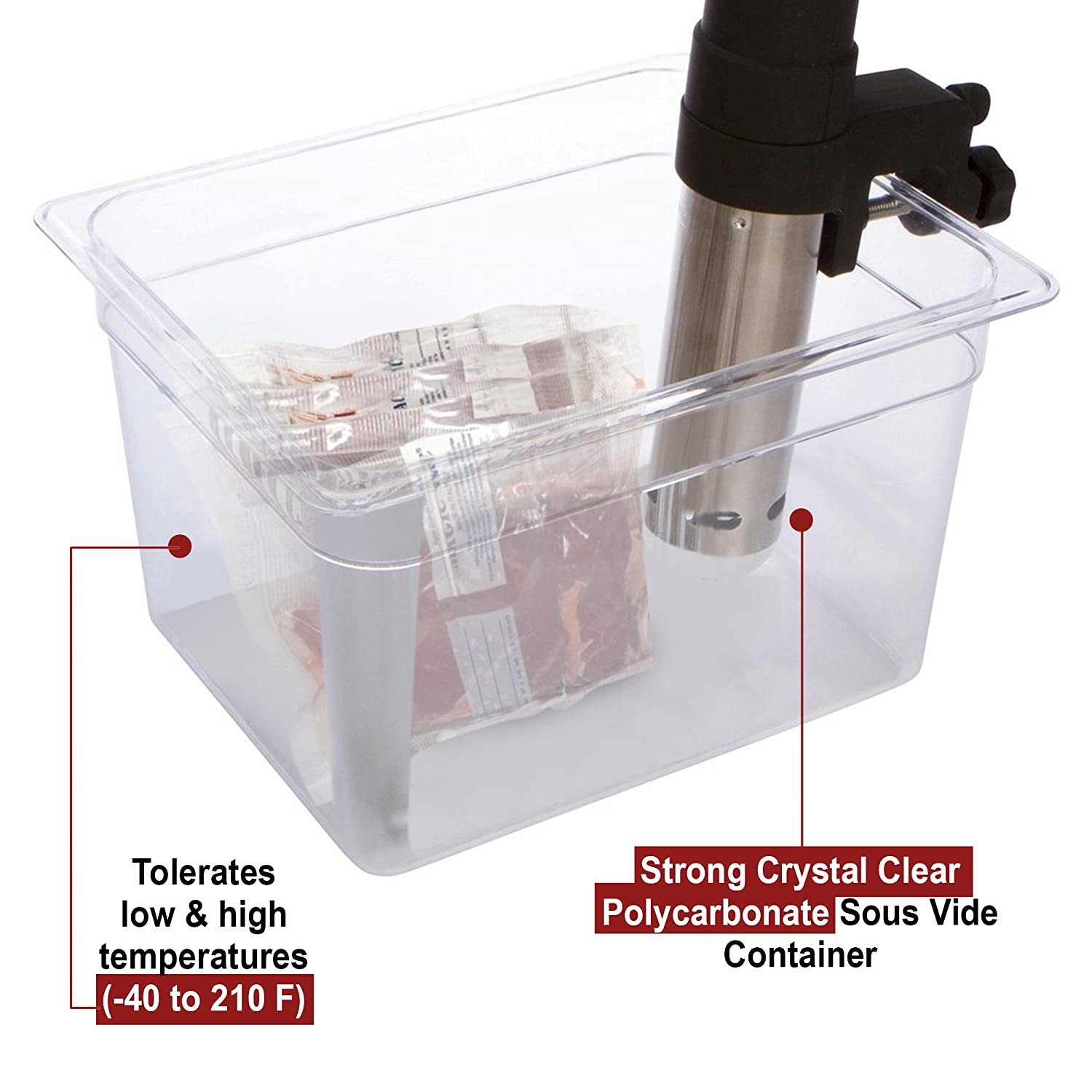 polycarbonate food storage containers