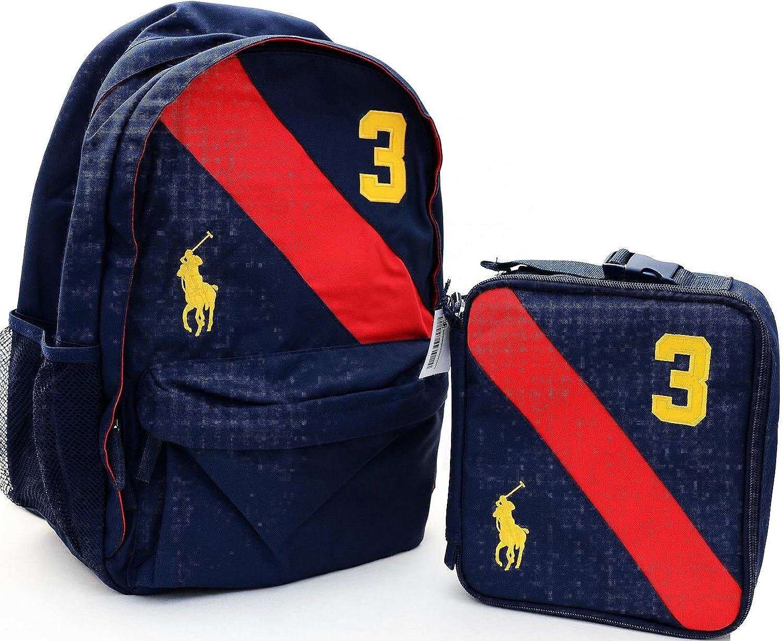 Polo Ralph Lauren para niños escuela mochila Bolsa de deporte y ...