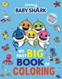 Pinkfong Baby Shark: My First Big Book of Coloring