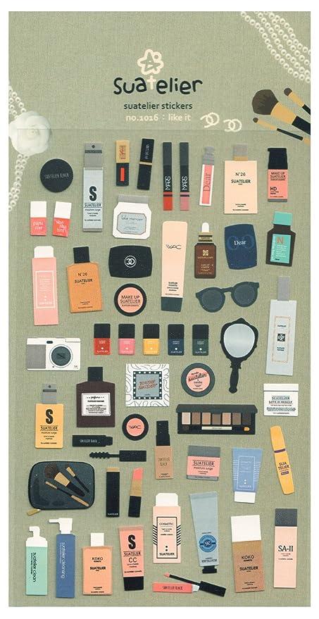 Set de imágenes 54-unidades - Make Up - nylon pegatinas alrededor ...